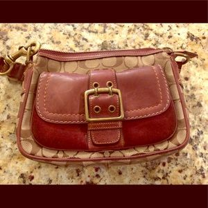 Fall season Coach purse